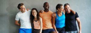 Header - Employee Benefits Employees in Workout Gear