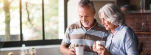 Header - Retirement Services Older Couple Talking